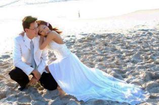 Wedding day for Mark Ellis