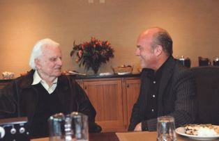 Billy Graham with Greg Laurie