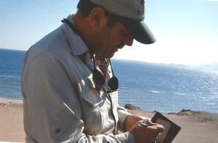 Bob teaching in Sharm El Sheikh