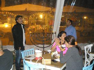 Celebrating Hannuka in Jerusalem