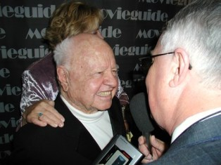 Dan Wooding interview Mickey Rooney smaller