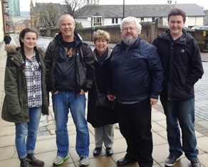 Family in the UK