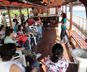 Orality Training on the Amazon River