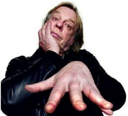 Rick Wakeman and his famous fingers