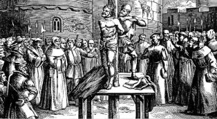 The martyrdom of William Tyndale