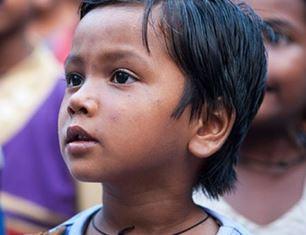 Child at Bridge of Hope