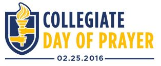 Collegaite Day of Prayer logo