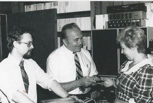 Jim Leonovich with wife and Alex