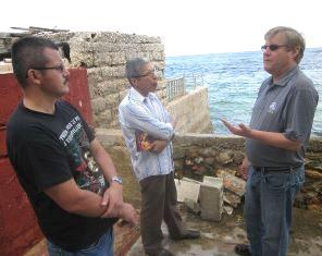 Russ meets FARC negotiators