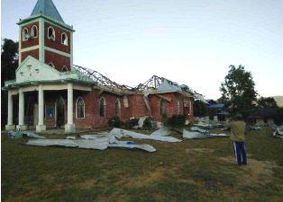 mi Catholic church destroyed in Burma 01 10 2017