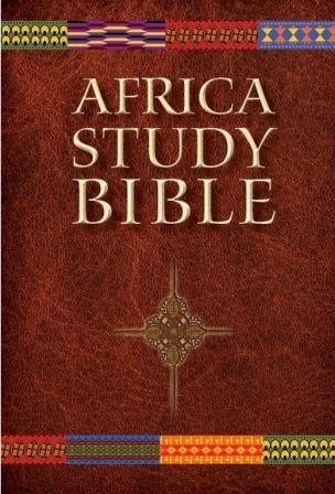 Front cover of the Africa Study Bible