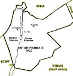 British mandate 1920