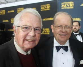 Dan Wooding and Ted Baehr at Movieguide 2017