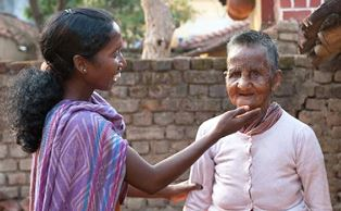 Serving leprosy patients