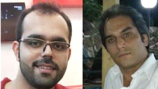 Two Iranians on hunger strike use