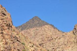 Close up of Mt. Sinai