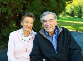 Doug Coe with wife