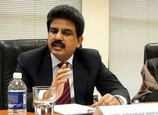 shahbaz Bhatti in office