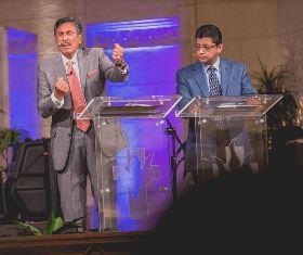 Michael Youssef preaching