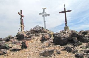 Three crosses on Tome Hill