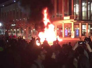 UC Berkely riot