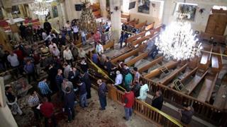 mi Coptic Christians were marking Palm Sunday in Tanta EPA 04 09 2017