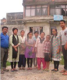 At Bridge of Friendship school