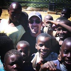 DJ Williams in Africa