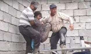 Freeing girl in Mosul
