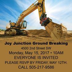 Ground Breaking FB ad 1