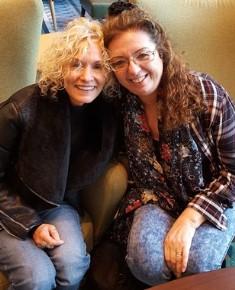 Jane Anderson with Sue Anderson smaller