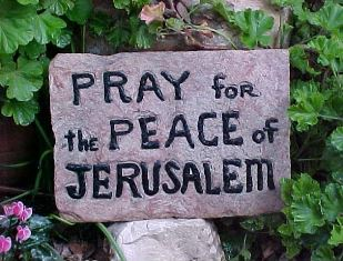 Pray for the Peace Garden Tomb