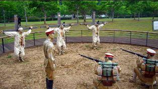 Public execution in North Korea