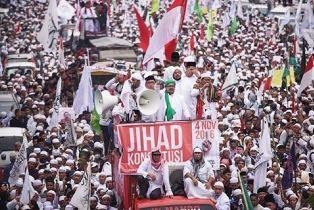 Rally against Ahok
