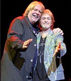 Rick Wakeman and Jon Anderson