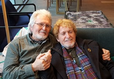 Tony and Jon Anderson in Bournemouth smaller