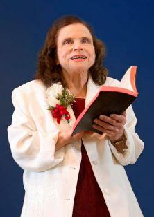 Vera Linzey preaching