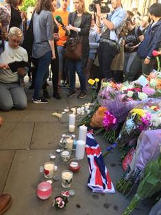 Vigil at Manchester Peter Wooding