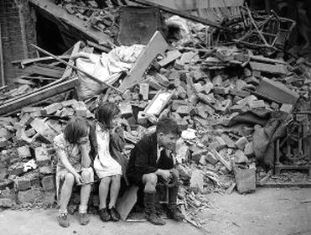 Children in wartime Britain