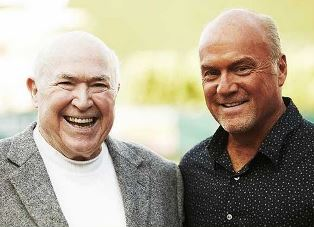 Chuck Smith with Greg Laurie