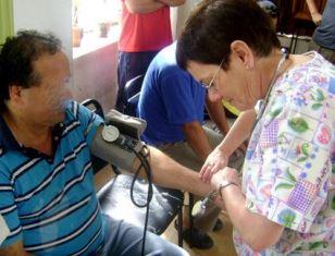 Rita check blood pressure
