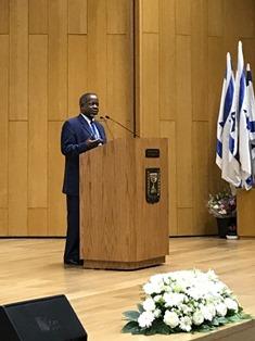 South African speaker