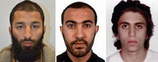 Three London terrorists