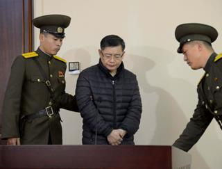 mi South Korea born Canadian Pastor Hyeon Soo Lim stands during his trial at a North Korean court 06.29.2017