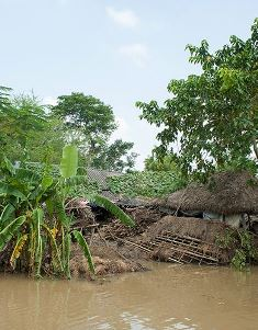Damage after cyclone use