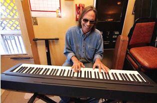John Dizek at Keyboard smaller