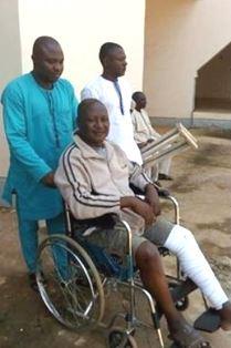 Nigerian journalist returns to jail smaller