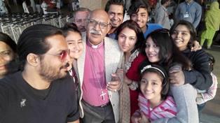 Pak Bishop with friends