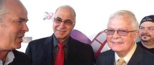 Peter Ata. Dan and Lance