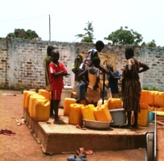 Storytelling at a Water Well